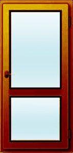 Евро-сосна балконная дверь